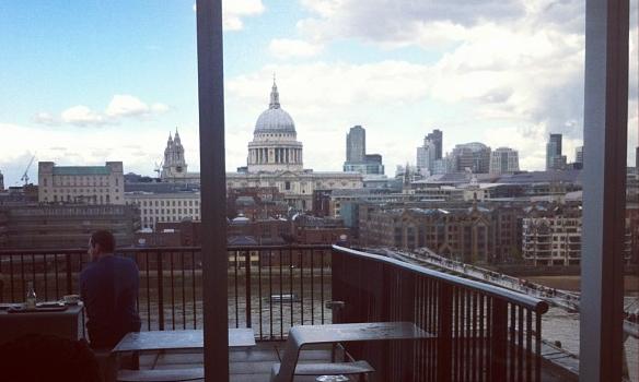 St Pauls Tate Modern View